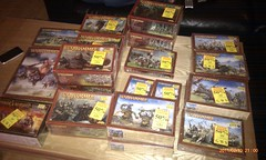Bamba had a half price sale on GW stock