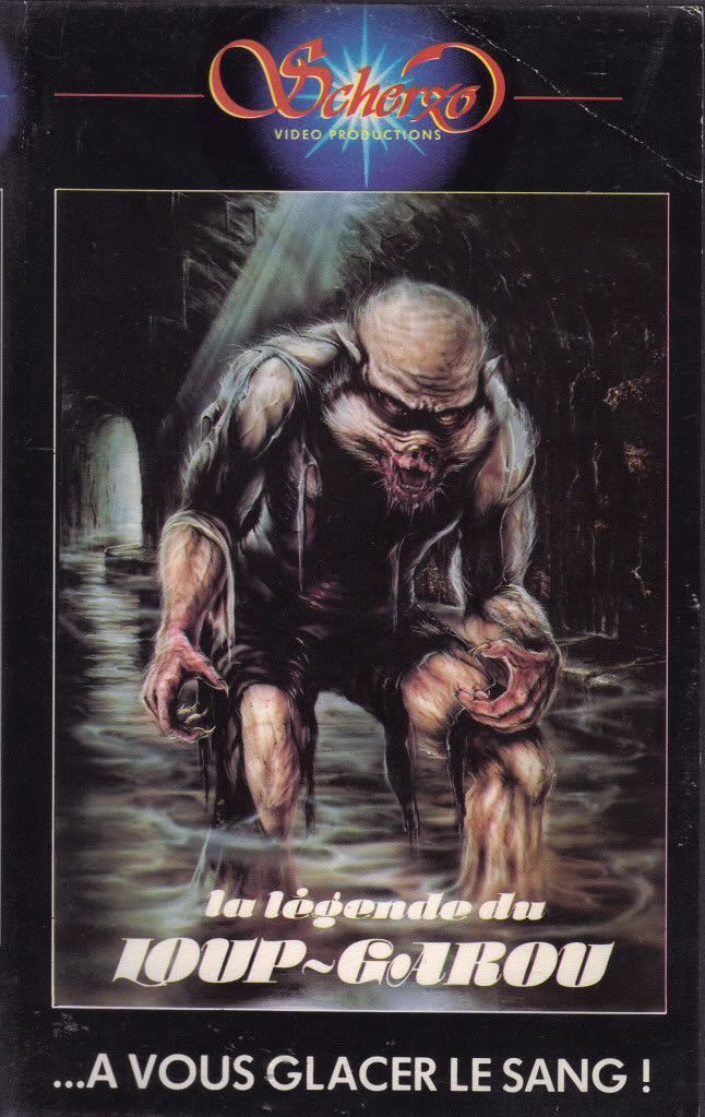 legende garou (VHS Box Art)