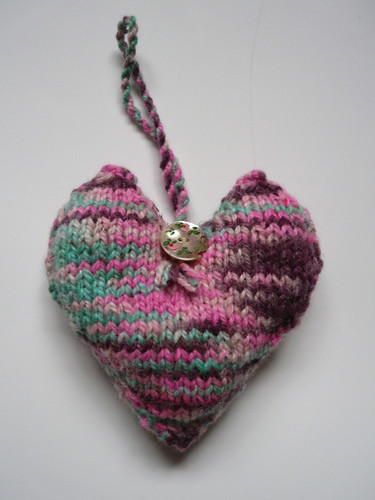 Little knitted heart