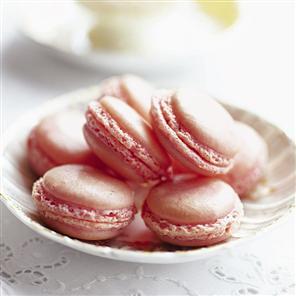 Pink-Macaroons