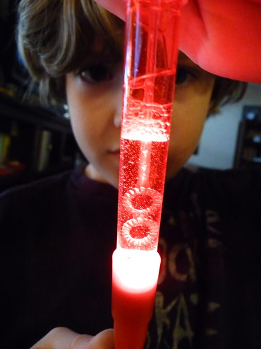Lighted Bubble Pen