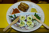 Deviled eggs (RohithRao) Tags: food eatery eatstreet egges eggie