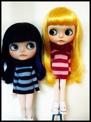 Mis mellizas!!!-My twins!!!