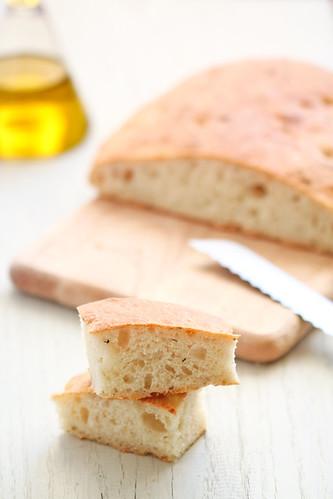 Coca de pa de formatge a la provençal