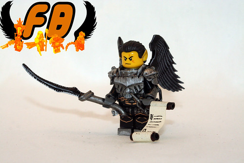 Custom minifig Dark Elf Lord custom lego minifigure
