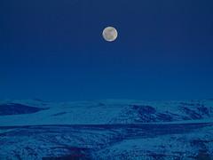 Moonrise (madpoet_one) Tags: winter sunset moon moonrise wyoming evanston themoon uintacounty evanstonwyoming ourmoon