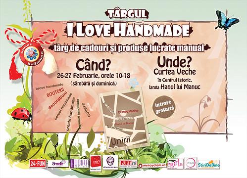 Targ I love Handmade de Martisor