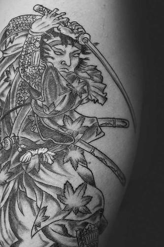 samurai warrior tattoos. Daz samurai tattoo