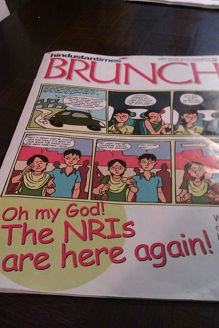 OMG,the NRIs are here again