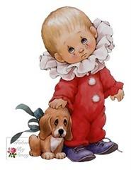 menino cachorro decoupage (Meninas Prendadas Blog) Tags: meninos natal pscoa cachorros papainoel coelhos meninas peixes bichinhos borboletas ch decoupage ursos xcaras