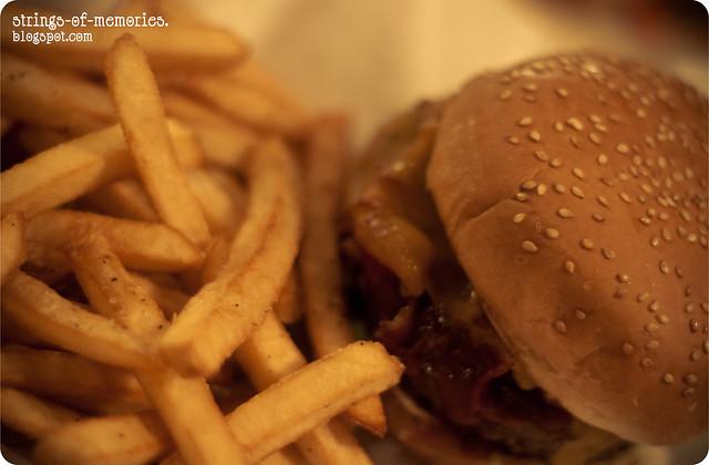 BBQ Ranch Burger