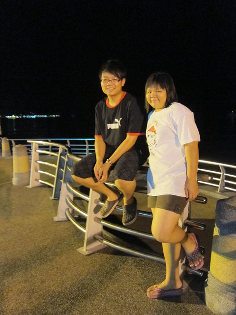 At Lumut Seafront