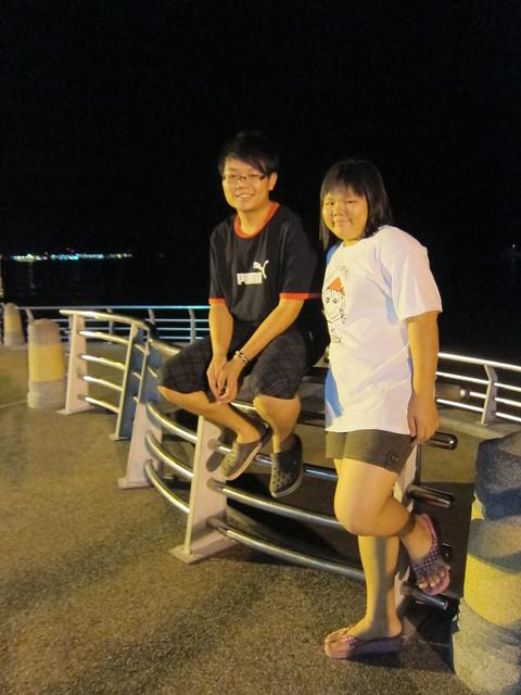 At Lumut Seafront