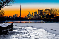 Sunset from Ashbridges Bay, The Beach, Toronto (Christopher Brian's Photography) Tags: