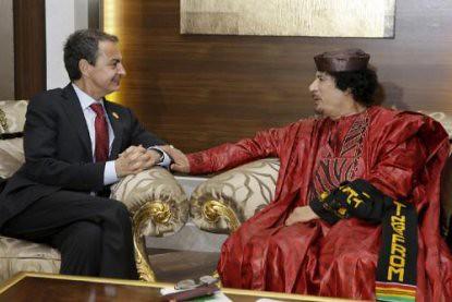 11b24 Zapatero Gadafi noviembre 2010