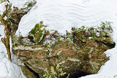Colors and Layers (Mitymous) Tags: rocks winter2010