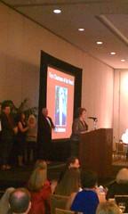 Mo Anderson at Carolinas Region Awards Reception