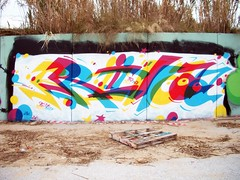 RILLA now in 3d (Gorillahs) Tags: barcelona graffiti 3d spain europe rila pbj rilla
