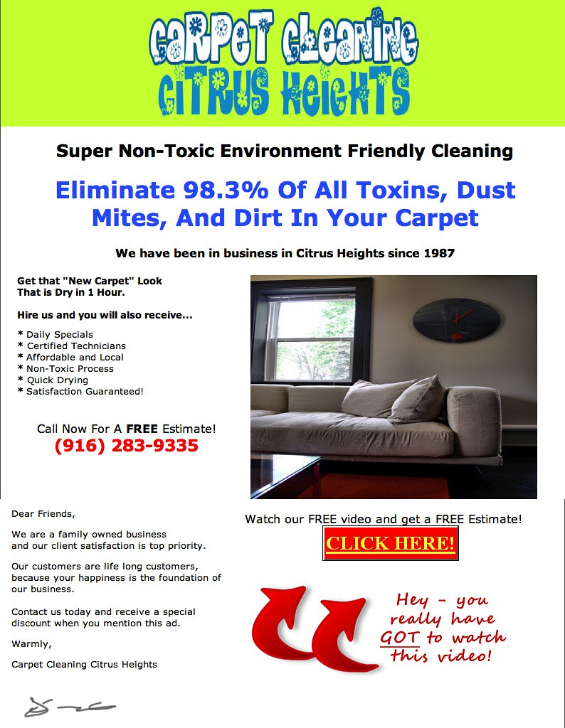 carpet cleaning citrus ca