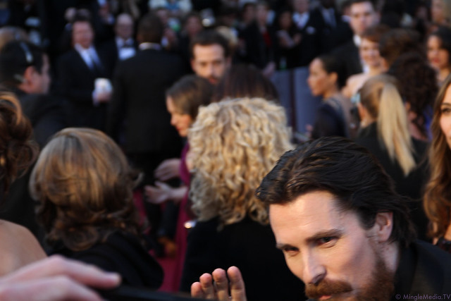 Christian Bale at the 83rd Academy Awards Red Carpet IMG_1564 by MingleMediaTVNetwork
