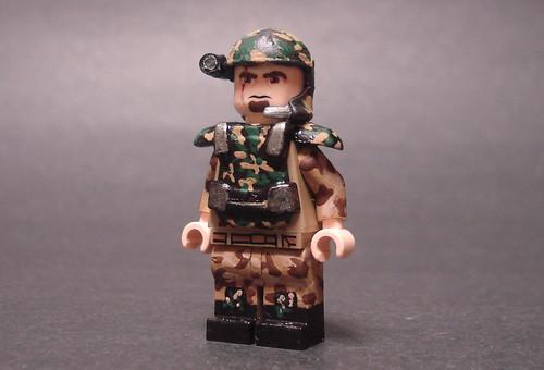 Custom minifig Colonial Marine