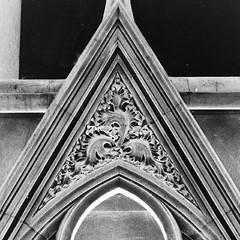Sedilia (tina negus) Tags: sculpture church blackwhite carving medieval foliage treeoflife hambleton sedilia