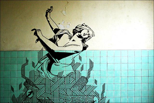 Urbex-Graffiti