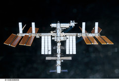 International Space Station (NASA, 02/26/11) (NASA's Marshall Space Flight Center) Tags: nasa 1001nights discovery spaceshuttle internationalspacestation stationscience crewearthobservation stationresearch