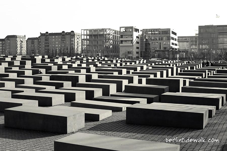 Jewish Memorial Berlin Berlin Sidewalk border=
