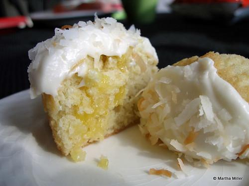 recipe – coconut lemon cupcakes