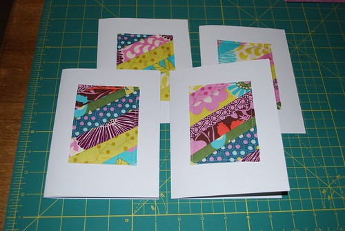 Patchwork Notecards