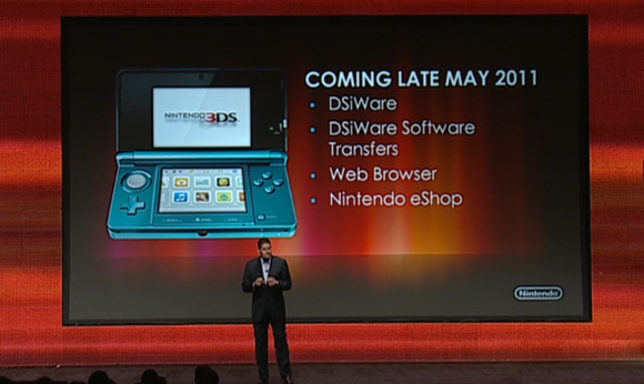 New+nintendo+3ds+games 2011