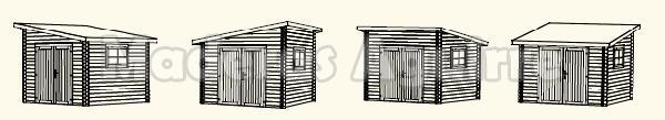 Caseta de jardin Ussel