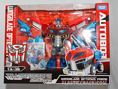 TF Animated Wingblade Optimus Prime