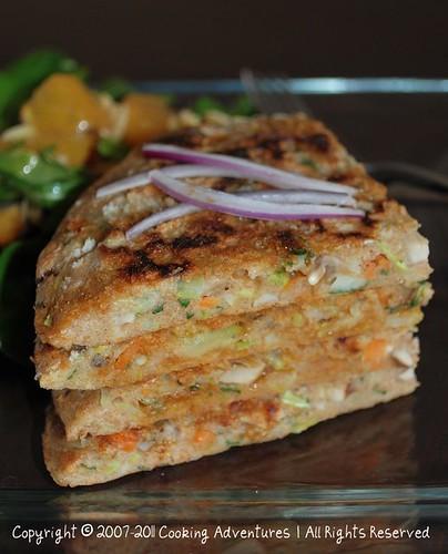 Okonomiyaki- Japanese Savory Pancakes