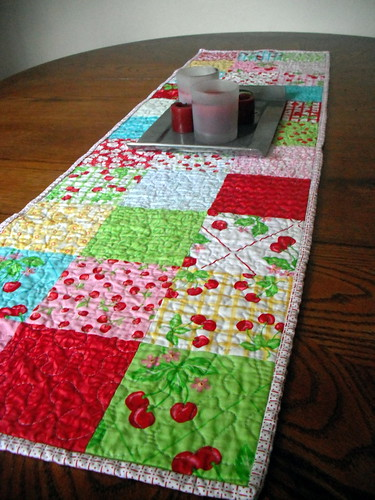 Oh Cherry Oh Table Runner