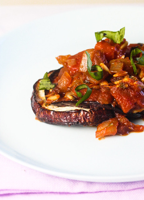 Baked Eggplant with Tomato Chutney 2 (1 of 1)