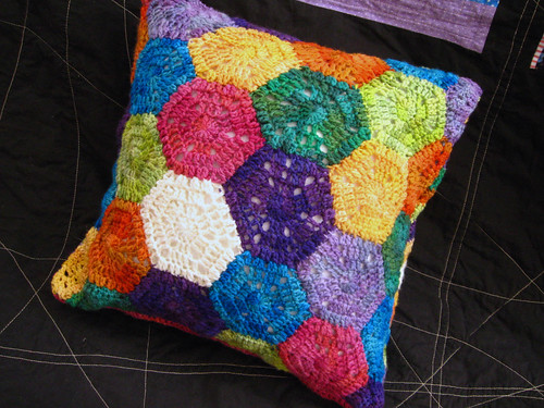 Crochet Pattern + Country Garden Pillow Free Patterns ...