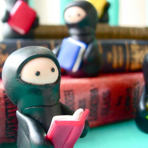 reading ninjas...