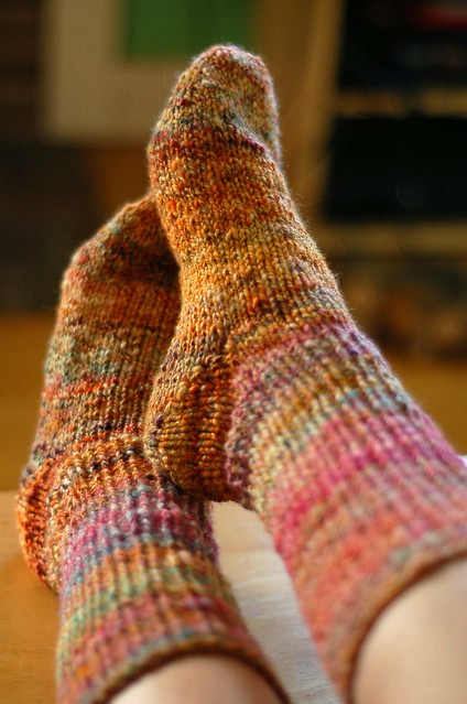 hooray for handspun socks!