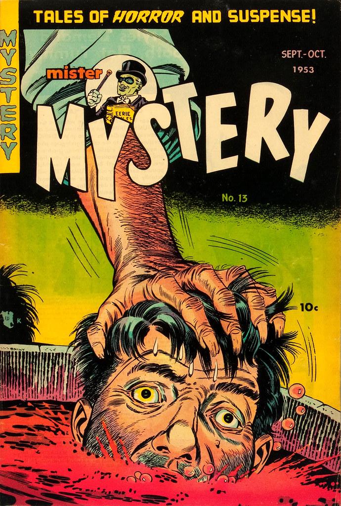 Mister Mystery #13 Bernard Baily Cover (Aragon Magazines, Inc. 1953)
