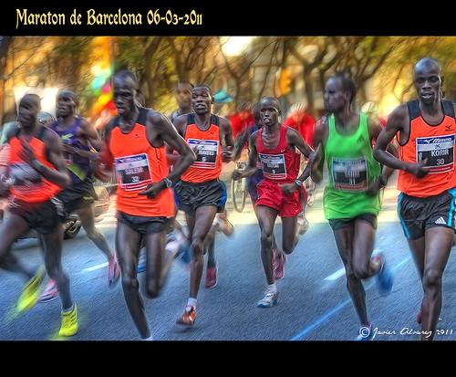 Maraton de Barcelona 2011