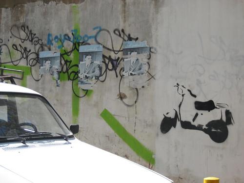 Scooter Street Art