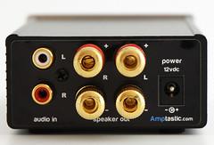 Mini T Amplifier (rear inputs) (amptasticuk) Tags: uk usa amp eu sonic impact amplifier hifi audiophile minit tripath ta2020 amptastic