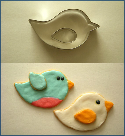 Cird cookie cutter from BigSillyWorld