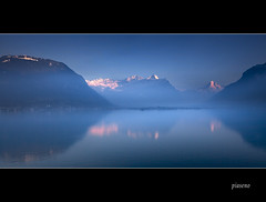 Last light above Lake Lucerne - Piaseno