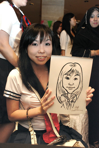 Caricature live sketching for Swire Pacific Offshore & The China Navigation Company Pte Ltd Annual D&D - 1
