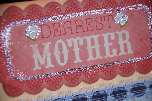 Dearest Mother BIG tag