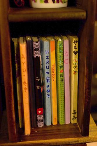 每位女僕也有日記本呢~ (心跳心跳)