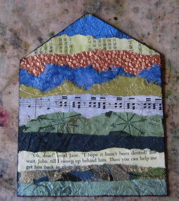 Mom Gothic Arch Book #1 - Segmented Collage 011